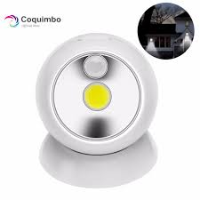 Hallway Sensor Light 360 Degree Pir Motion Sensor Night Light For Hallway Battery Operated Cob Led Sensor Lamp Battery Hallway Light