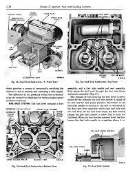 Autolite 4100 Cfm Chart Autolite 2100 Service Manual Fordsix Performance Tech Articles