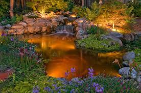 garden lighting highlights flowers water features and pathways amazing garden lighting flower