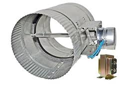 air conditioning damper. 12-inch diameter normally open electronic hvac air duct damper with power supply conditioning 3