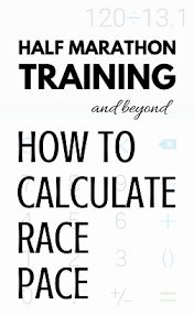 Running Pace Calculator How To Predict Goal Race Pace With