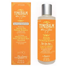 thebalm carrot eye makeup remover for normal to bination skin