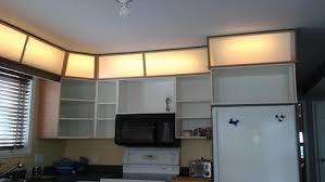 above cabinet lighting. Above Cabinet Lighting L