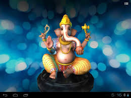 3d ganesh its free mobile app live wall paper on ganesh 3d wall art with 3d ganesh its free mobile app live wall paper youtube