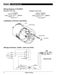 ridgid 300 wiring diagram viewki me ridgid 300 switch wiring diagram wiring schematic diagram of ridgid 300 with ground and neutral or line filter 791x1024
