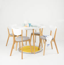 picture of new york round dining table set