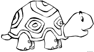 Small Picture Coloring Pages With Turtles