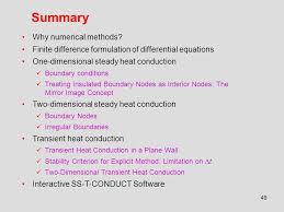 summary why numerical methods