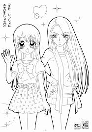 Anime Coloring Pages Printable Unique Anime Girl Coloring Pages For