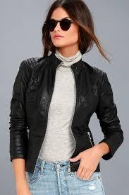 Cool Moto Jacket - Quilted Moto Jacket - Vegan Moto Jacket & Heartlines Black Vegan Leather Moto Jacket 2 Adamdwight.com