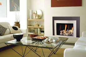 contemporary electric fireplace design
