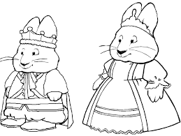 Small Picture Free Printable Max and Ruby Coloring Pages For Kids