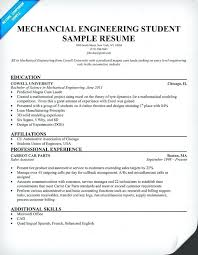 Resume For Mechanical Engg Sample Resume Mechanical Engineer Mmventures Co
