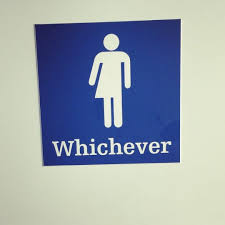 gender neutral bathroom sign funny. Simple Gender This Sign Couldnu0027t Care Less It Just Wants You To Get Your Business Over  With In Gender Neutral Bathroom Sign Funny R