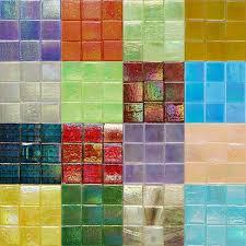 kaleidoscope iridescent glass mosaic tiles 3 4 inch inside tile design 14