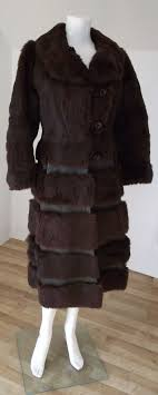 this is a gorgeous unique coat from julian vard furriers in dublin it dates from the 1960 s and is in near perfect condition though there are a couple of