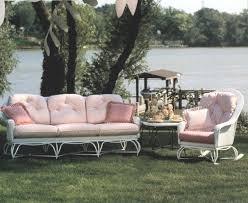 vintage wicker patio furniture. Vintage Wicker Furniture Small Por Patio O