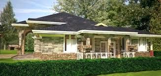 bungalow 4 bedroom house plan in kenyan plans kenya modern