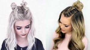 Trendy DIY Hairstyles for Fall 2017 \u0026 Winter 2018 - YouTube