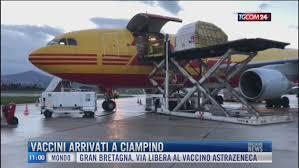 Breaking News delle 11.00 | Vaccini arrivati a Ciampino - Video Tgcom24