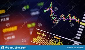Smartphone Trading Online Forex Or Stock Exchange Market