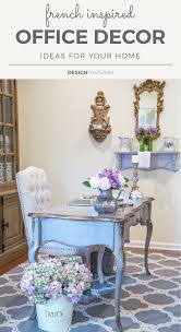 country office decorating ideas. Beautiful Office Painted Blue Provincial Desk Throughout Country Office Decorating Ideas C
