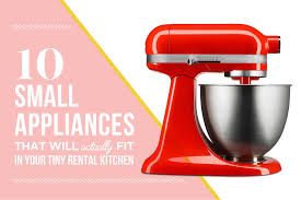 Small Red Kitchen Appliances 10 Small Appliances Thatll Actually Fit In Your Tiny Rental