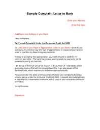 Letters Of Complaints Samples 021 Complaint Letter Templates Examples New Example Proof