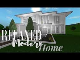 b l o x b u r g modern house