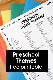 Fall Lesson Plans For Toddlers Themes