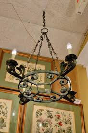 coventry french wrought iron chandelier