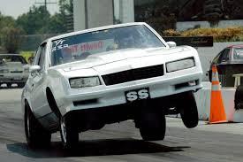 1984 Chevrolet Monte Carlo SS 1/4 mile Drag Racing timeslip specs ...