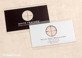 50 Clear Business Cards You Have To See Designed By Plastic Printe