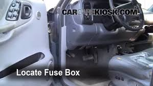 interior fuse box location dodge durango dodge interior fuse box location 1998 2003 dodge durango