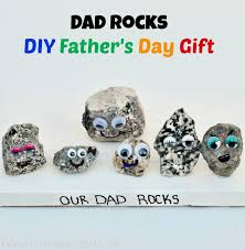 diy dad rocks father s day gift made from