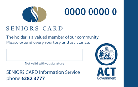 Nsw For Tcc Act Travel Home Concession - In Seniors