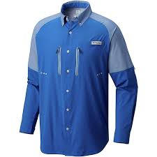 Columbia Fishing Shirt Size Chart Columbia Mens Solar Shade Zero Woven Long Sleeve Shirt