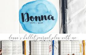 Layouts Blue Donnas Blue And Yellow A6 Holiday Bullet Journal