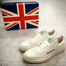 reebok shoes for men style. reebok club c 85 vintage chalk mens retro casual shoes sneakers trainers pick 1 for men style