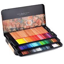 Newdoer Marco Renoir Bo Te En Tain De 100 Crayons De Couleur Type