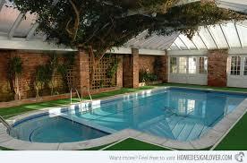 green plants amazing indoor pool house