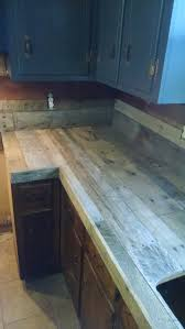 Pallet Wood Backsplash Pallet Countertops And Backsplash Album On Imgur