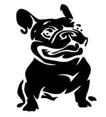 French Bulldog Color Chart French Bulldog Decal