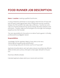 chef resume sample examples sous chef - Food Runner Resume Sample