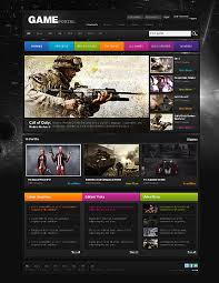 Video Website Template Delectable Thrilling Game Website Templates Entheos