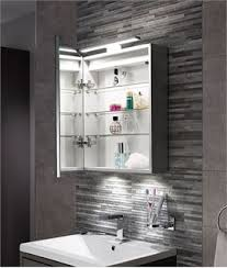 mirrored bathroom cabinets with lights. amazing idea bathroom cabinet with lights and mirror bold ideas mirrored cabinets atomic wall a