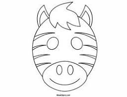 5f139a9acfabd97a6c791023a12c955c 25 best ideas about zebra mask on pinterest zebra craft, abc on happy face mask template