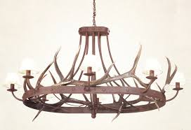 rectangular wood chandelier