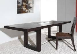 thor modern wenge red oak veneer dining table