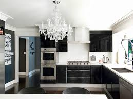 crystal chandelier in the kitchen 2